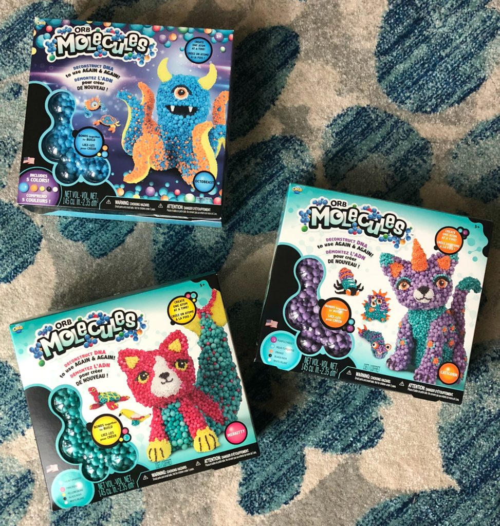 Orb Molecules Boxes