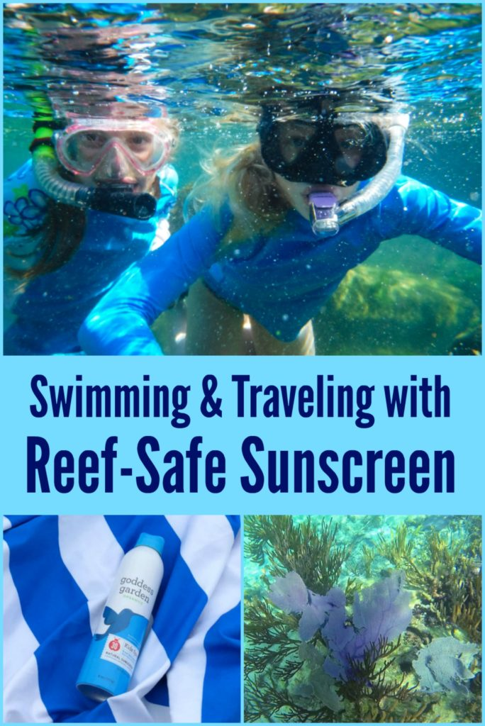 Reef-Safe Sunscreen