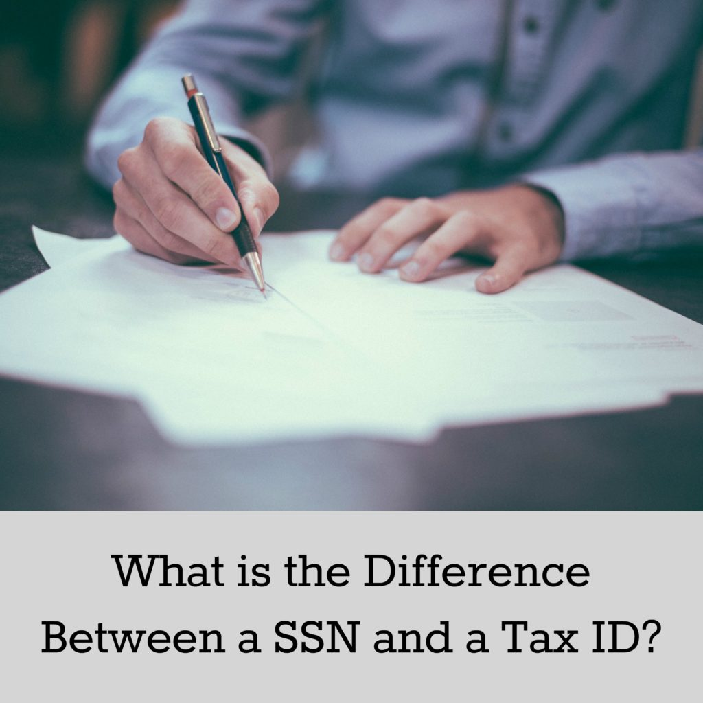 What is the Difference Between a SSN and a Tax ID?