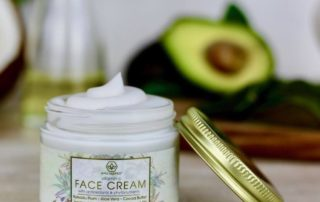 ERA Organics beauty products - Natural Vitamin C Face & Eye Cream + Natural Cleansing Oil & Make Up Remover