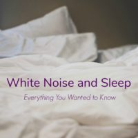 White Noise and Sleep