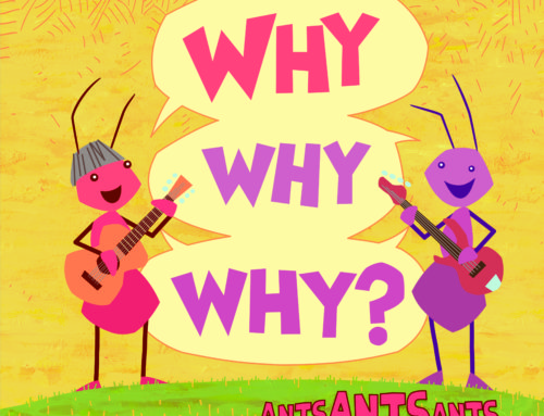 """Ants Ants Ants Debut Album for Kids, """"Why Why Why?"""" (**GIVEAWAY**)"""
