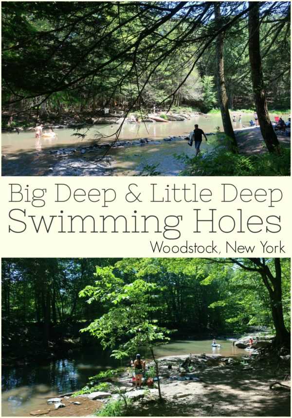 Big Deep Little Deep Swimming Holes Woodstock NY
