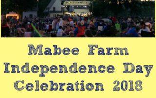 Mabee Farm Independence Day Celebration