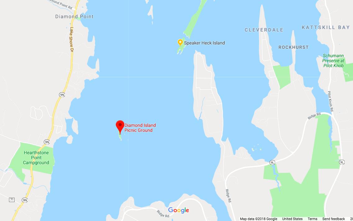 Diamond Island, Lake George