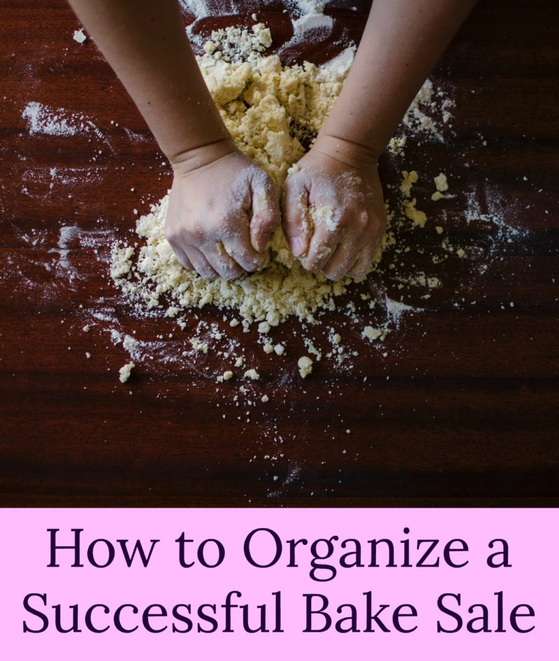 How to Organize a Successful Bake Sale