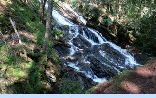 Thundering Brook Falls Killington Vermont