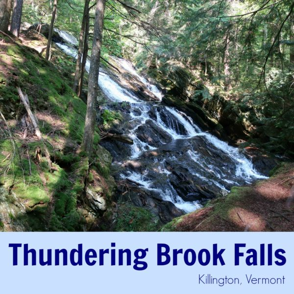 Thundering Brook Falls Killington Vermont
