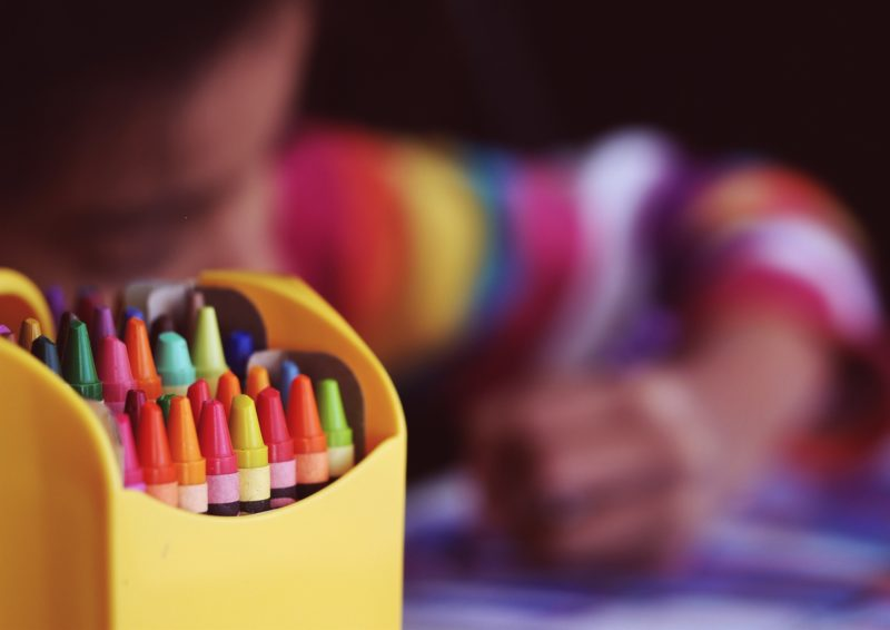 Children crayons