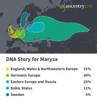 AncestryDNA - Marysa