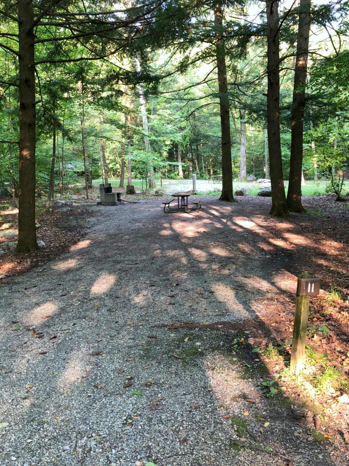 Emerald Lake State Park Campsites Dorset Vermont