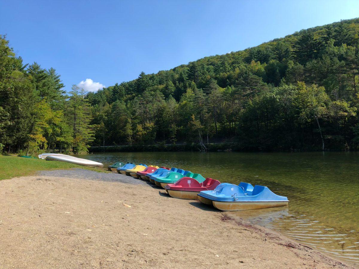 Emerald Lake State Park Paddle Boats