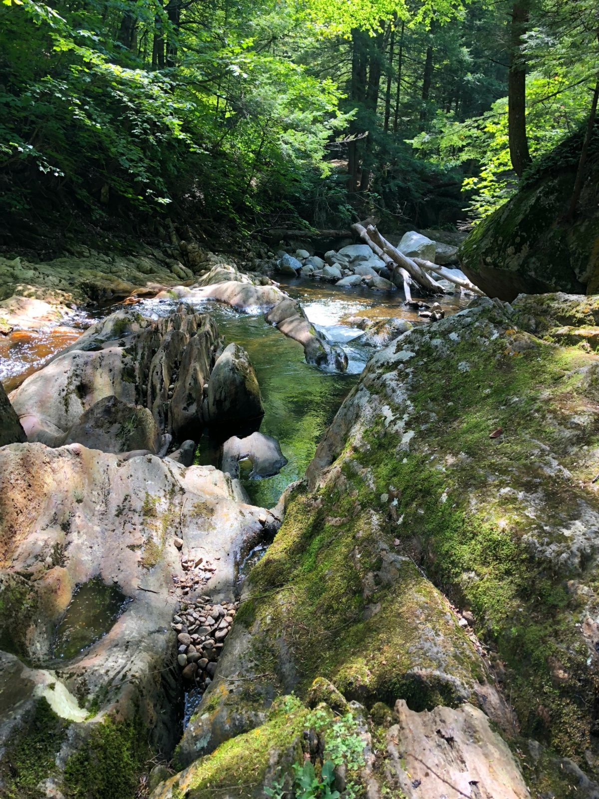 Falls of Lana Salisbury Vermont