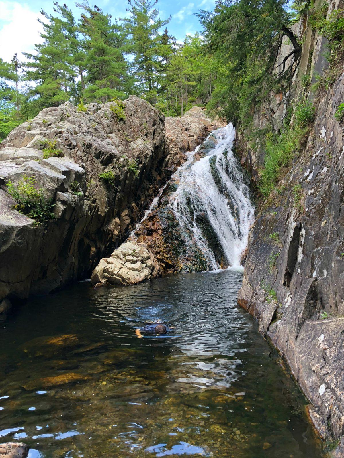 Falls of Lana Swimming