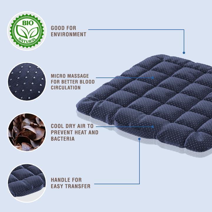 Musta Buckwheat Cushion