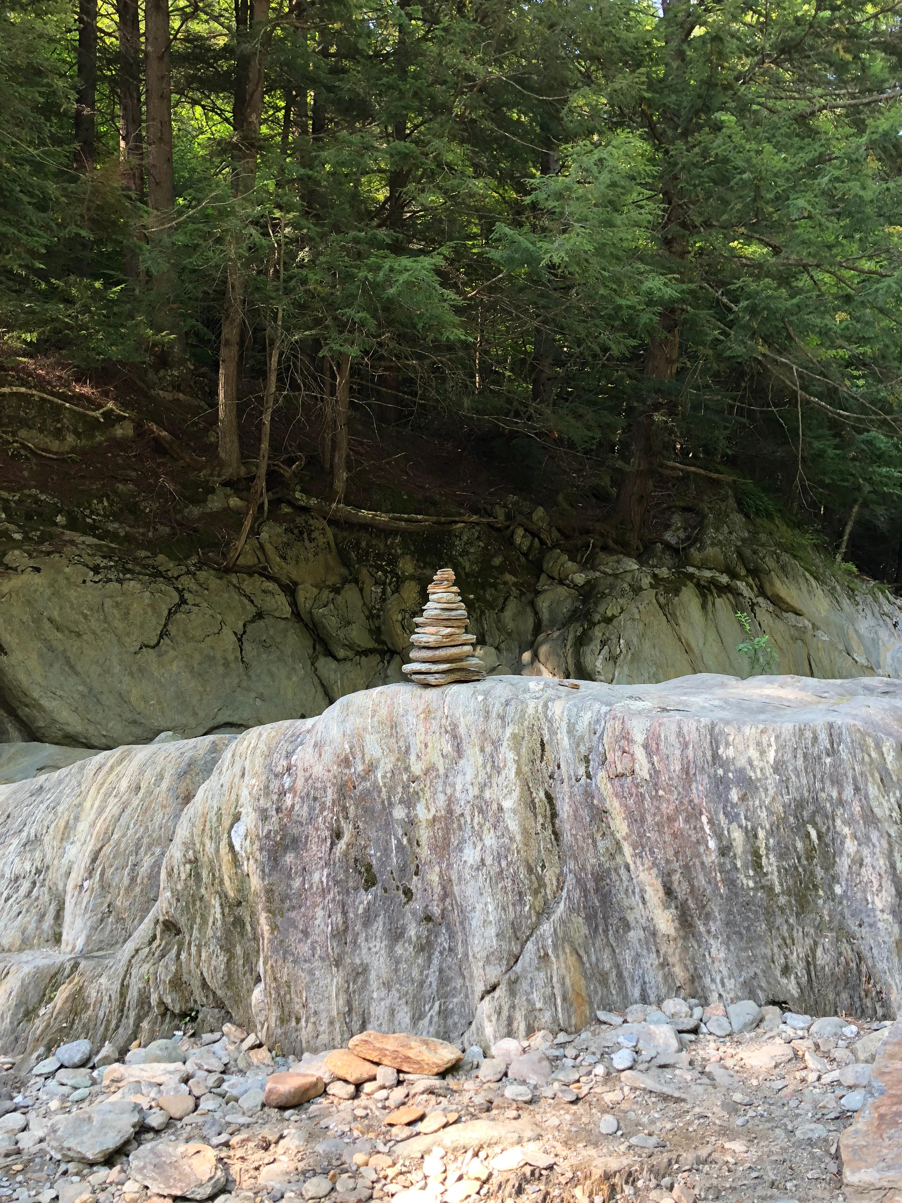 Warrens Falls Cairns Vermont