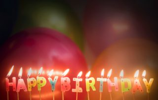 Happy Birthday Balloons Party