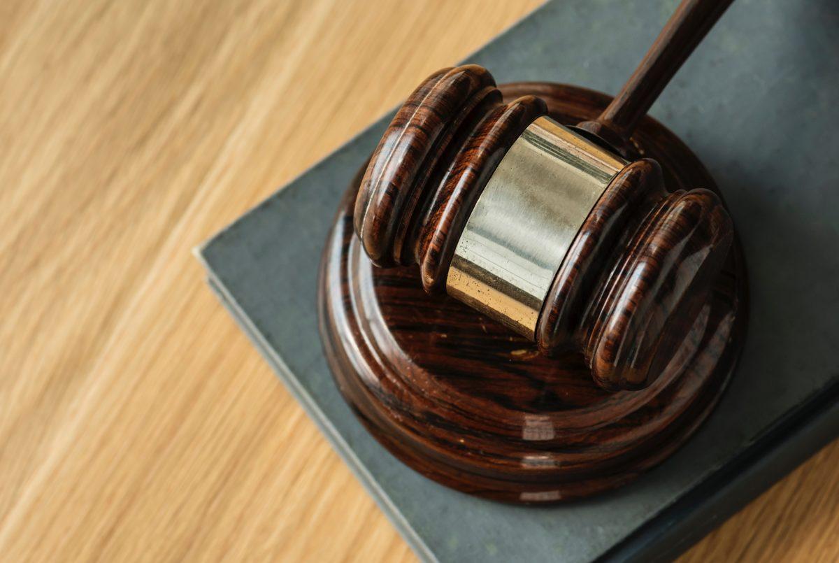 court gavel law