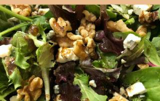 Walnut & Gorgonzola Salad with Balsamic Vinaigrette