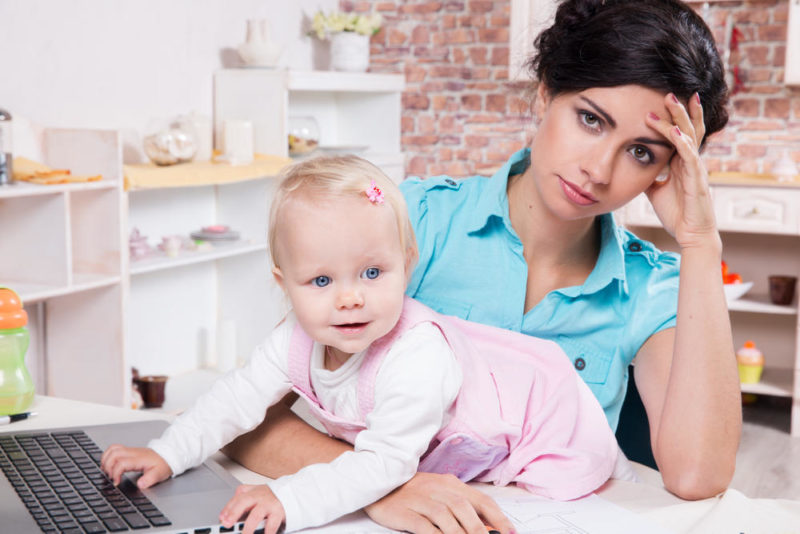 Working Mothers Moms
