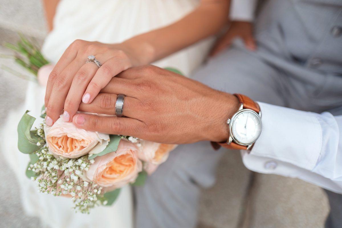 Wedding Bride Groom Flowers