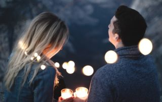 Romantic Date Couple