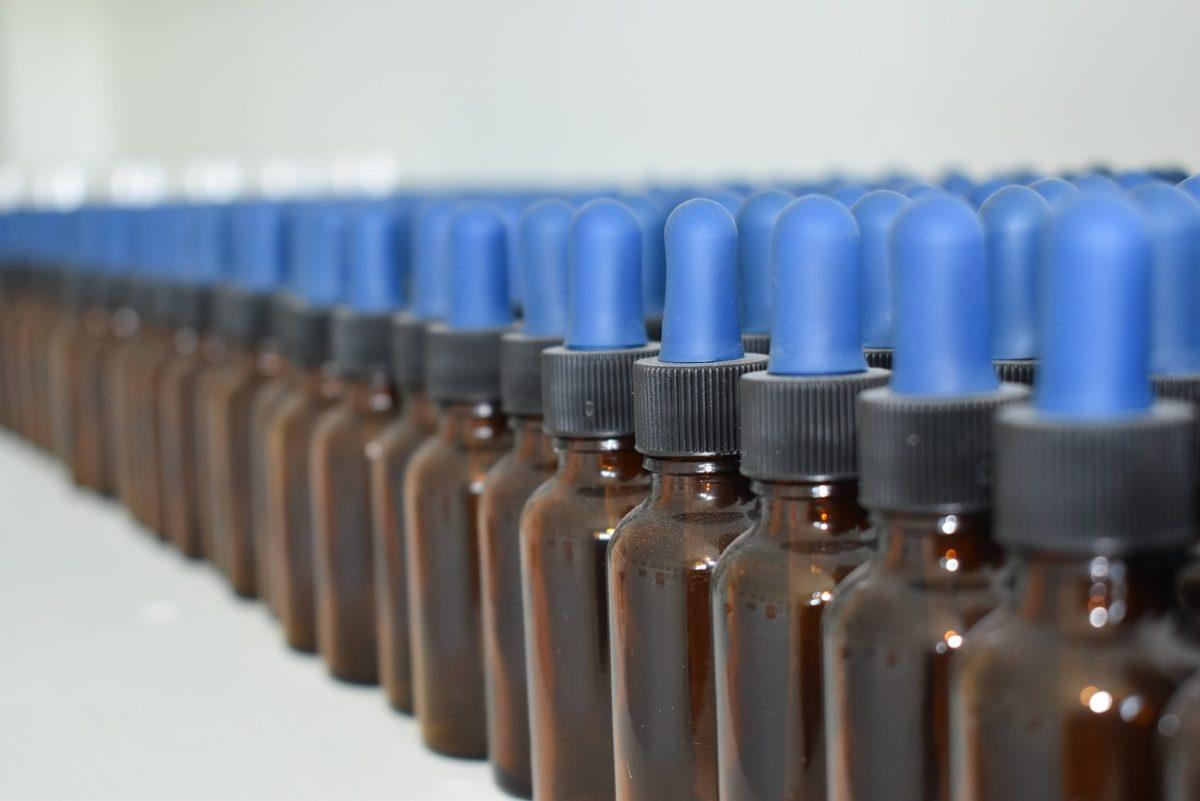 Dropper bottle oil CBD
