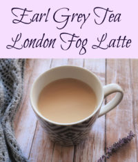 London Fog Earl Grey Tea Latte