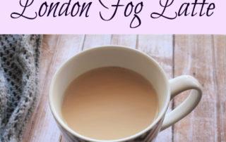 London Fog Earl Grey Tea Latte