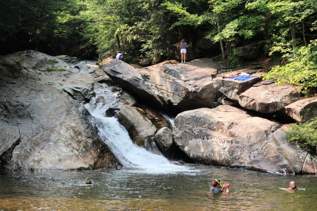 PIkes Falls Swimming Vermont