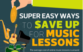 Saving Budgeting for Music Lessons