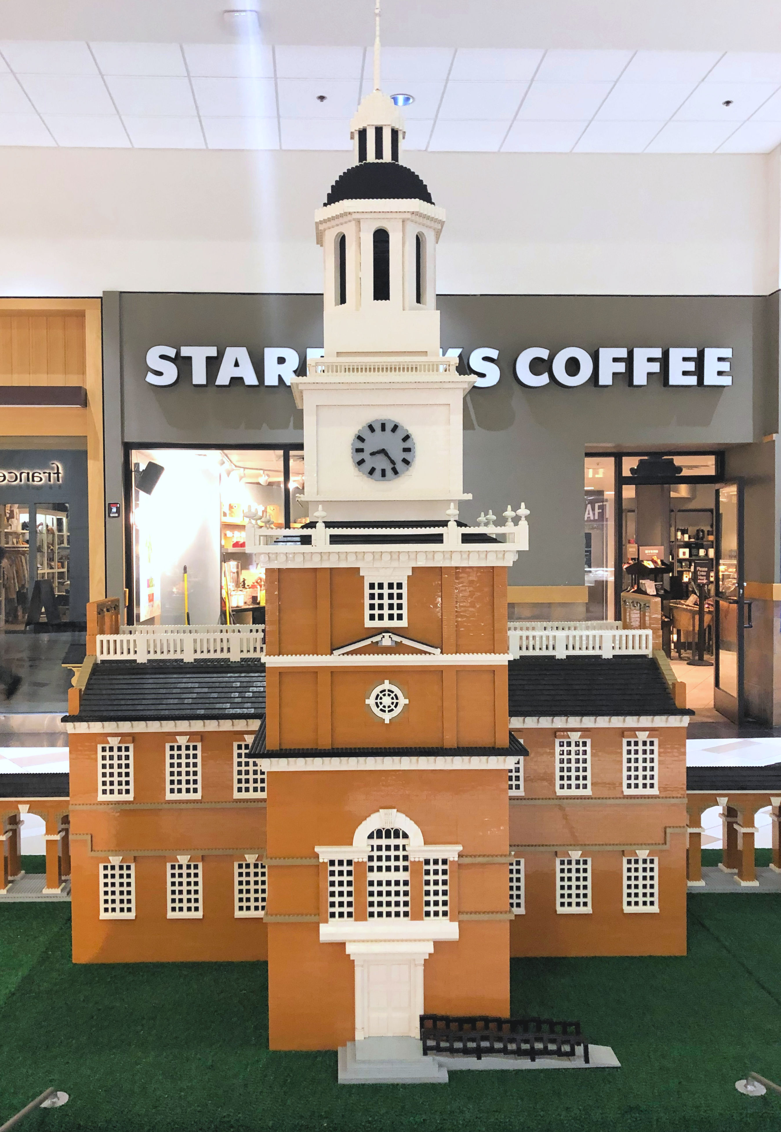 LEGO Independence Hall