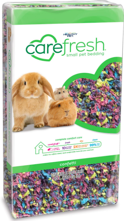 Chewy.com Carefresh bedding