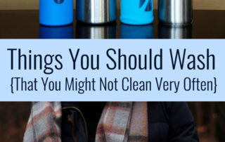 Things You Should Wash