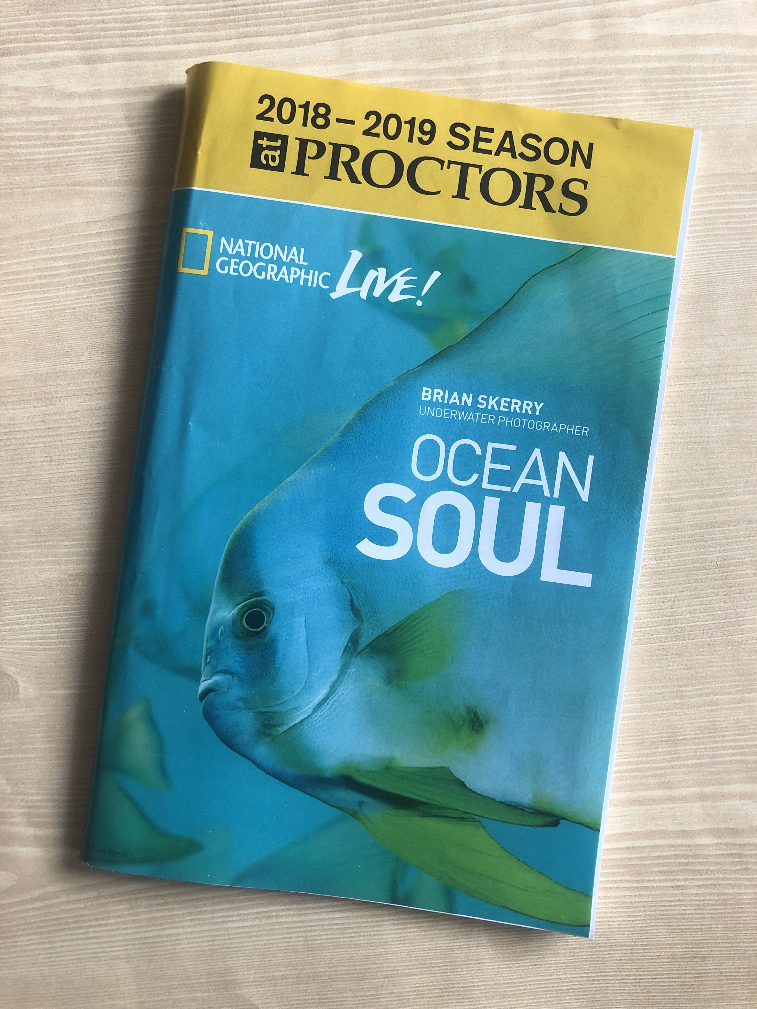 National Geographic Live Ocean Soul