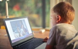 Child Laptop Computer Internet