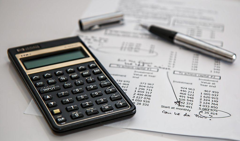 Calculator finances