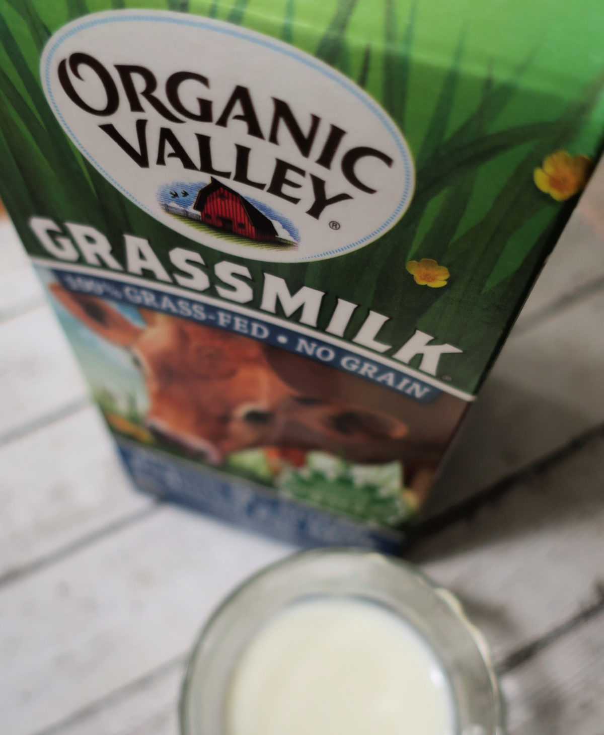 Organic Valley grassfed milk