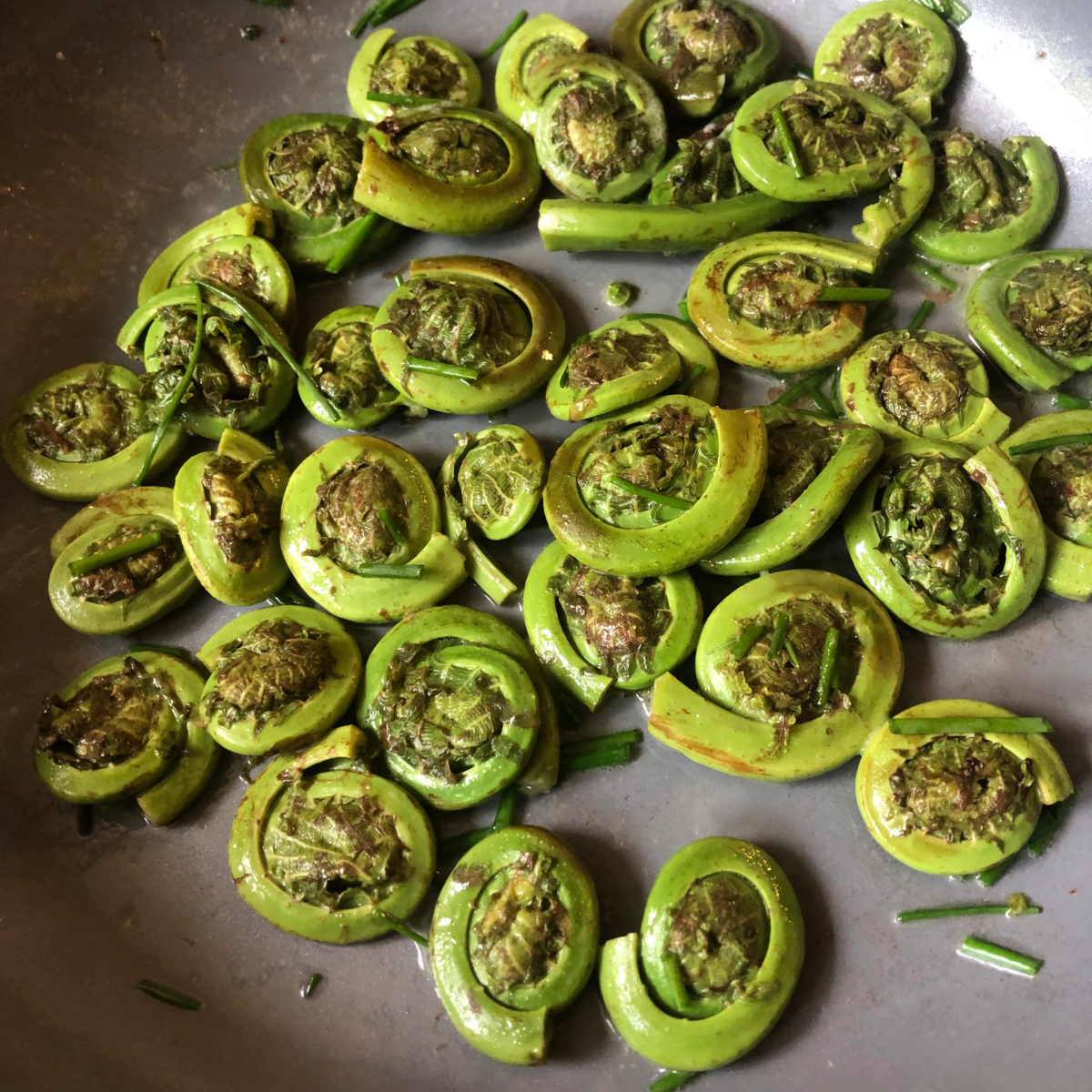 Fiddleheads recipe