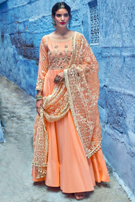 Look Stunning For Your Next Event With Stylish Anarkali Salwar